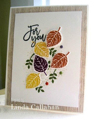 Pals Paper Crafting Card Ideas Linda Callahan Mary Fish Stampin Pretty StampinUp