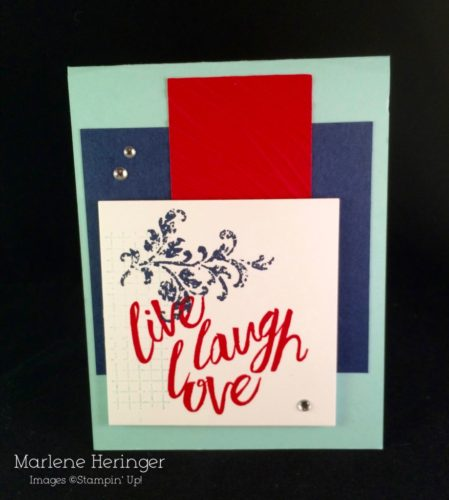 Pals Paper Crafting Card Ideas Marlene Heringer Mary Fish Stampin Pretty StampinUp