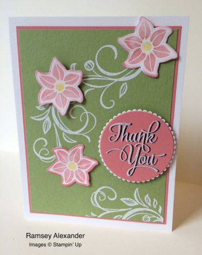 Pals Paper Crafting Card Ideas Ramsey Alexander Mary Fish Stampin Pretty StampinUp
