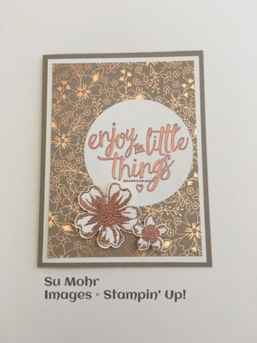 Pals Paper Crafting Card Ideas Su Mohr Mary Fish Stampin Pretty StampinUp