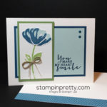 Bunch of Blossoms Card with a Punch!