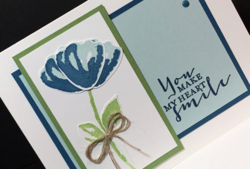 Stampin Up, Bunch of Blossoms Bundle, Friendship card ideas-Mary Fish, stampinup