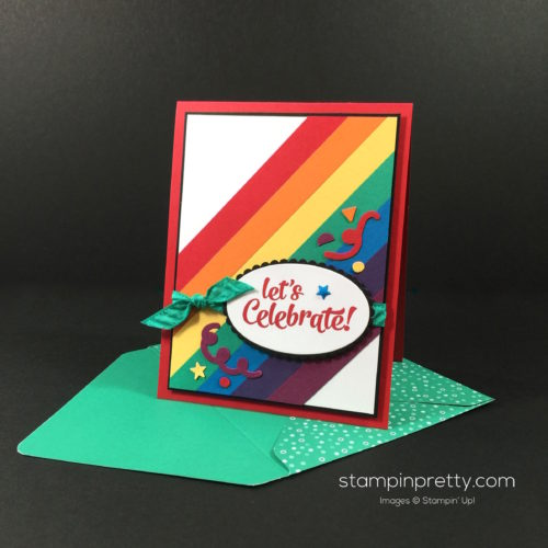Stampin Up Confetti Celebration Card Ideas - Mary Fish Stampinup