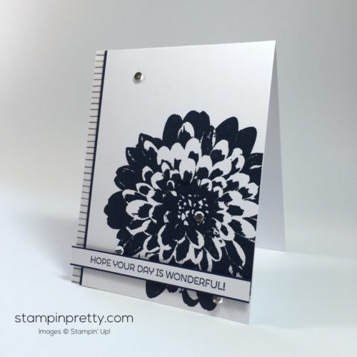 Stampin Up Definitely Dahlia Cards Ideas - Mary Fish Stampinup