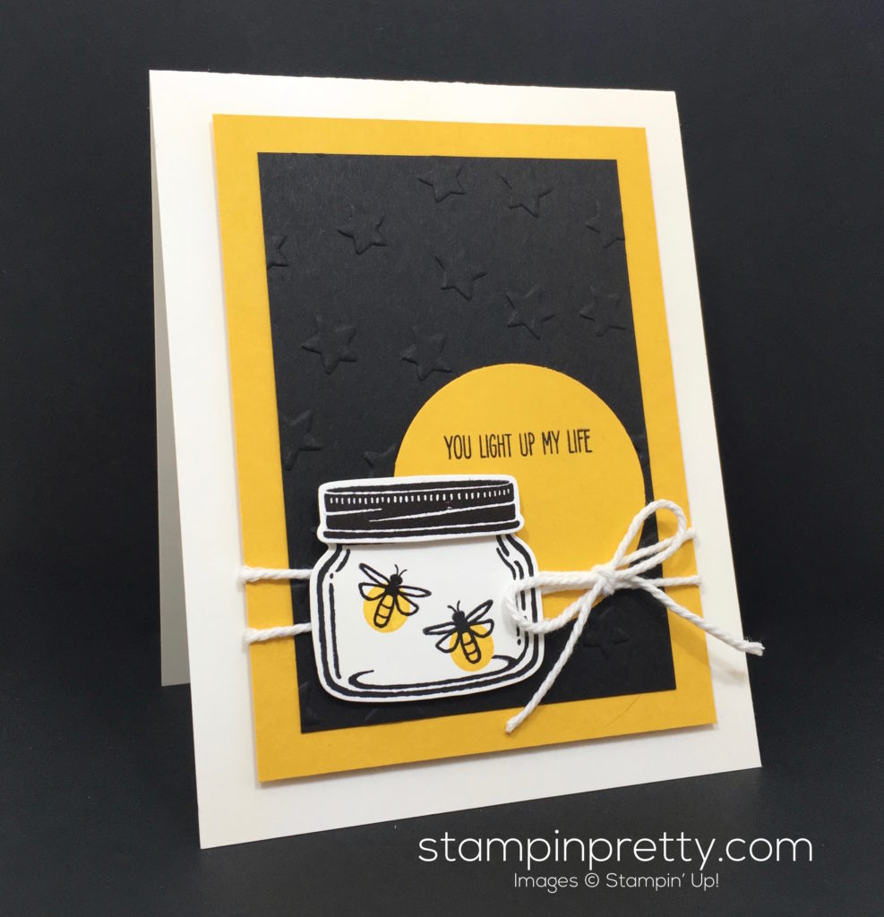 Catching Fireflies With A Jar Of Love Stampin Pretty