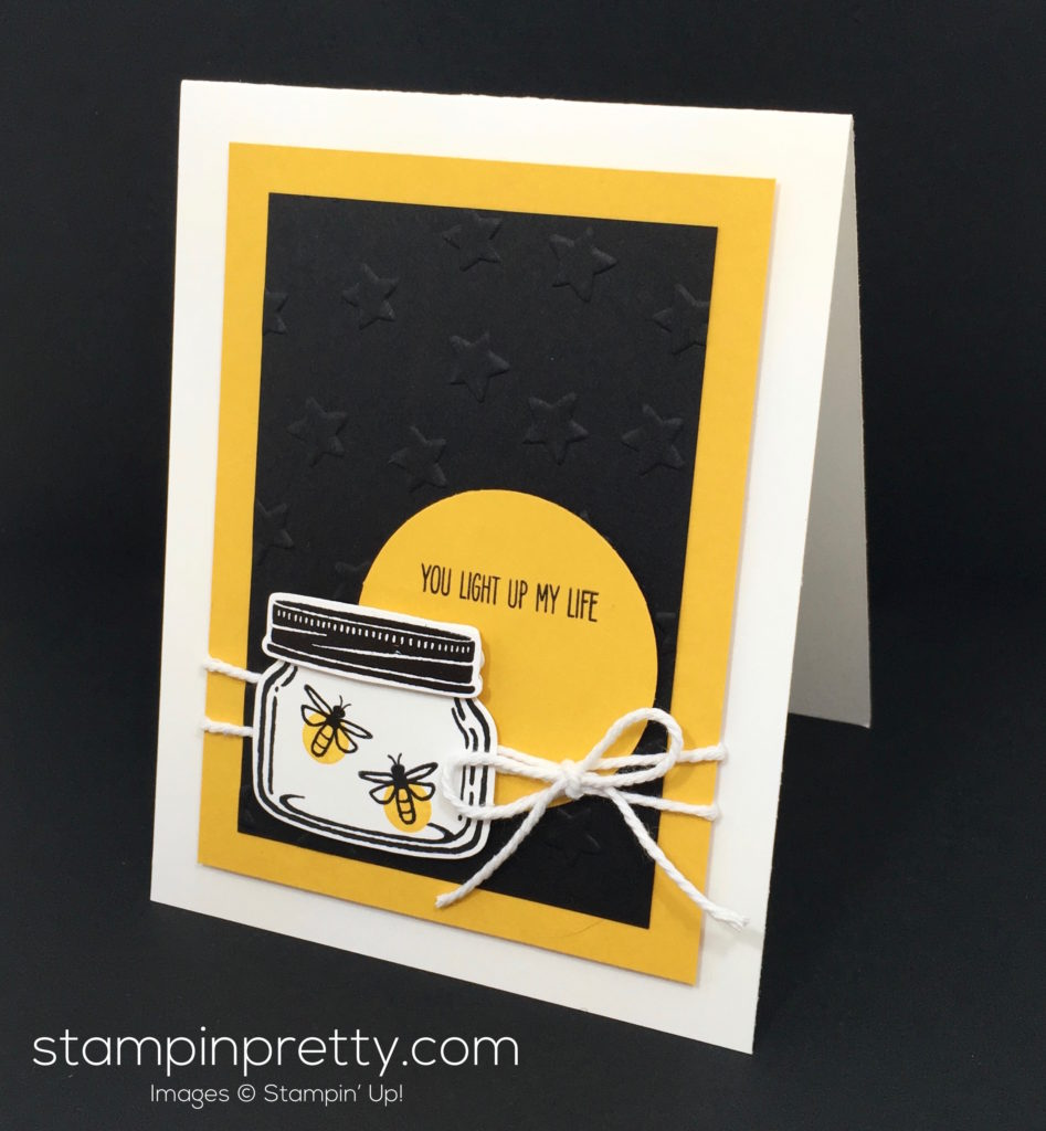 Catching fireflies with a jar of love stampin 39 pretty for Mary fish stampin up