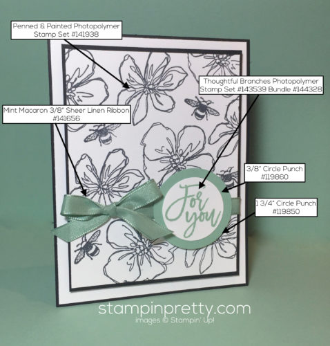 Stampin Up, Penned and Painted, Birthday Card Ideas - Mary Fish, stampinup, SU