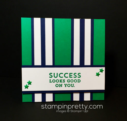 Stampin Up, Suite Sayings, Congratulations card idea-Mary Fish, stampinup