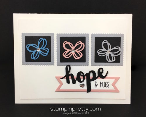 Stampin Up Sunshine Sayings Wishes Sympathy Cards Idea - Mary Fish StampinUp