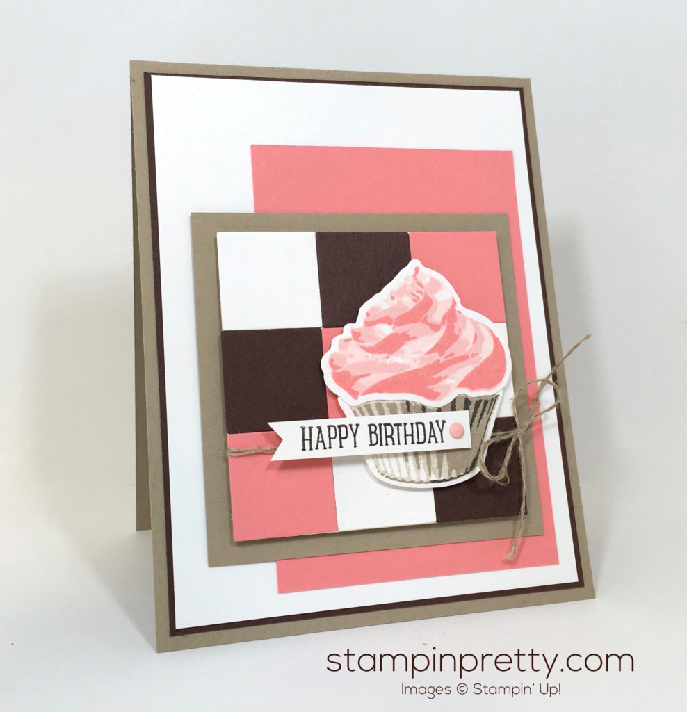 Sweet Cupcake Neapolitan Birthday Card