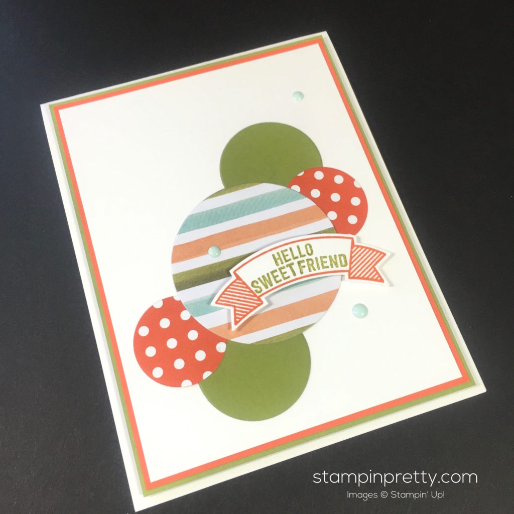 Stampin Up Thoughtful Banner Card Ideas - Mary Fish Stampinup
