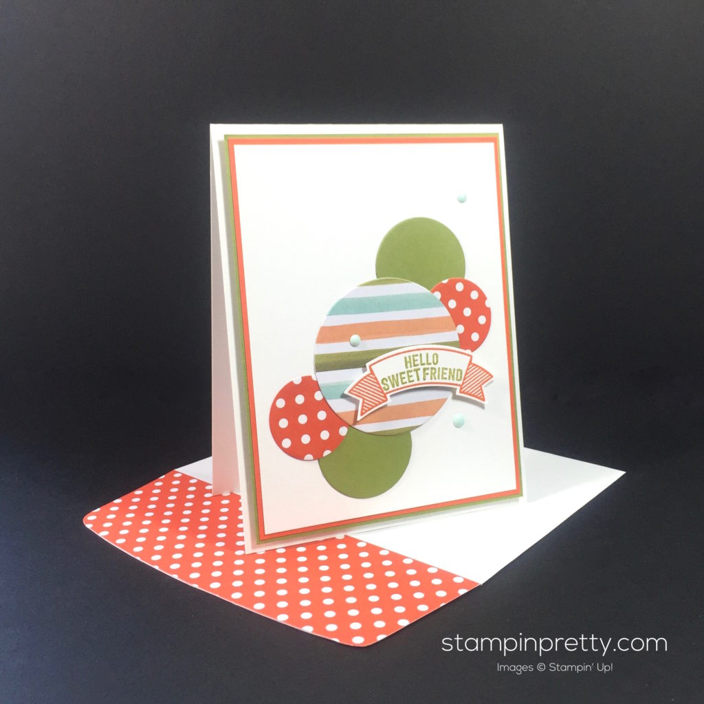Stampin Up Thoughtful Banners Card Idea - Mary Fish Stampinup