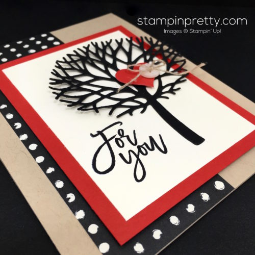 Stampin Up Thoughtful Beautiful Branches Love Card Ideas - Mary Fish StampinUp
