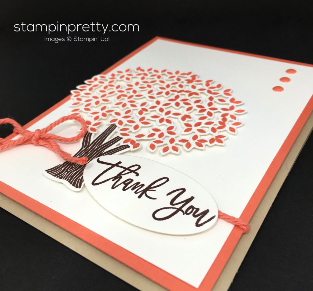 Stampinu0027 Up! Thoughtful Branches Thank You Card Ideas   Mary Fish StampinUp
