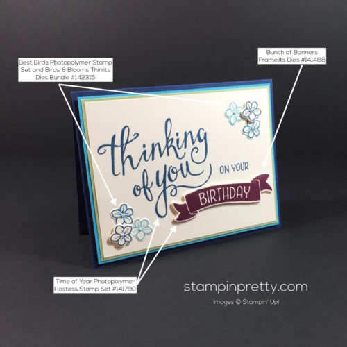 Stampin' Up! Time of Year Friendship Card Ideas - Mary Fish Stampinup