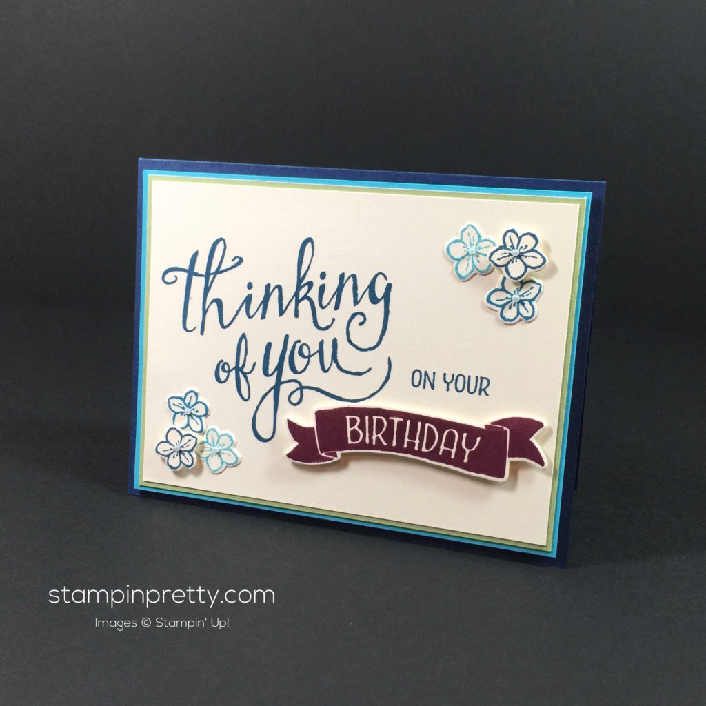 Stampin' Up! Time of Year Friendship Cards Idea - Mary Fish Stampinup