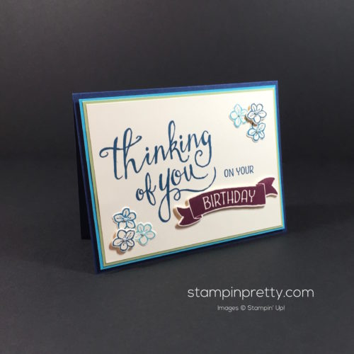 Stampin' Up! Time of Year Friendship Cards Ideas - Mary Fish Stampinup