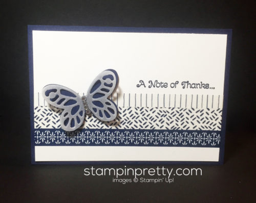stampin up, Butterfly Framelits and Thinlits, quick and easy cards - Mary fish, stampinup