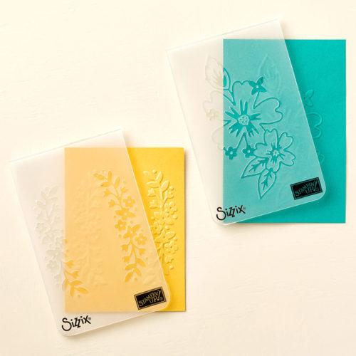 Floral Affection Embossing Folder StampinUp