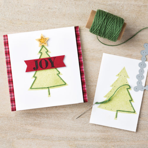 Festive Stitching Thinlits Dies - Images © Stampin' Up!
