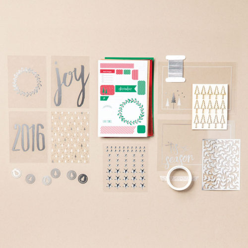 Hello December 2016 Project Life Kit - Images © Stampin' Up!