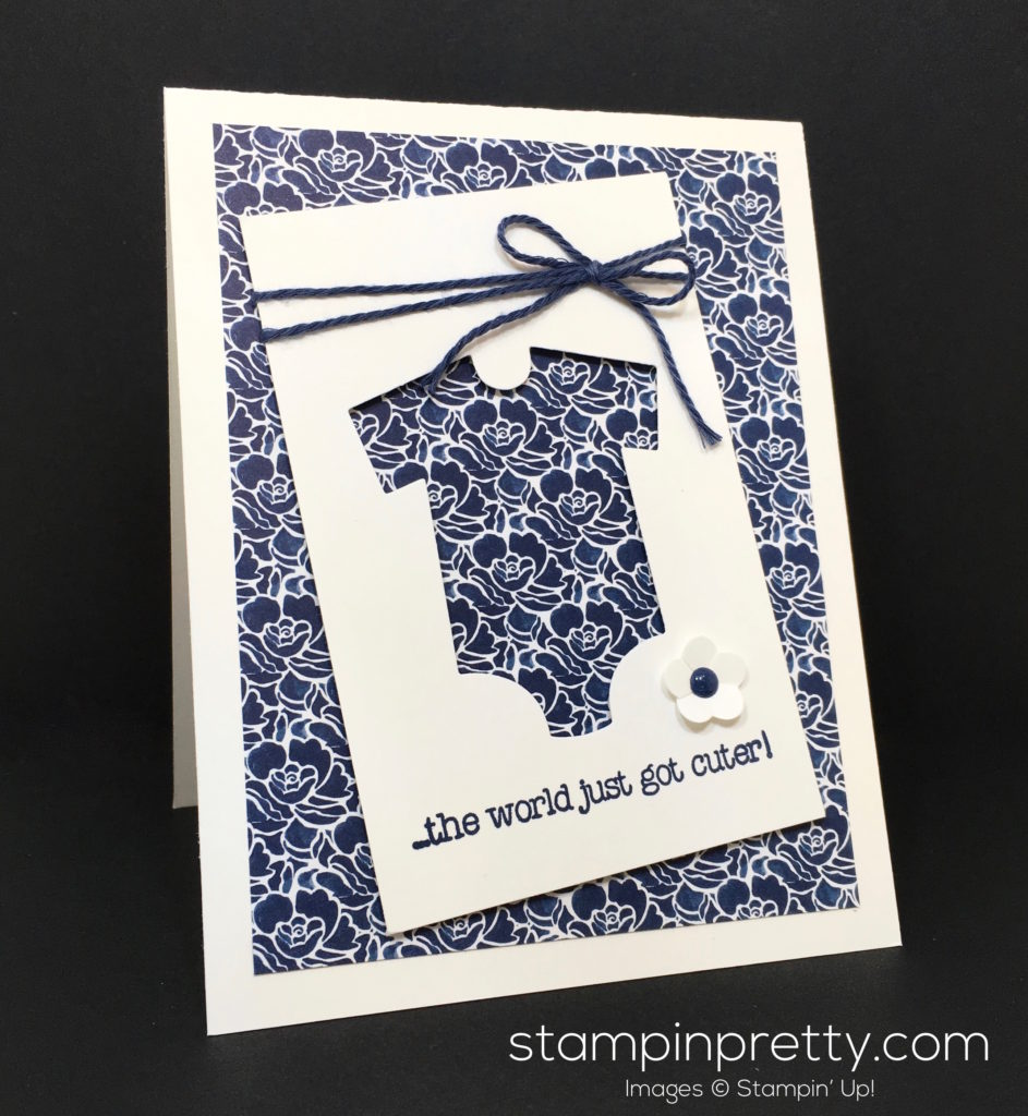 More baby kids cards archives stampin 39 pretty for Mary fish stampin up