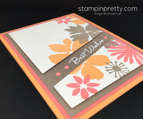 Stampin Up Blooms & Wishes Birthday Card Ideas - Mary Fish StampinUp
