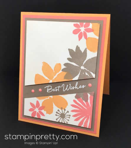 Stampin Up Blooms & Wishes Birthday Cards Idea - Mary Fish StampinUp