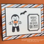 OH MY!  Cookie Cutter Halloween Card