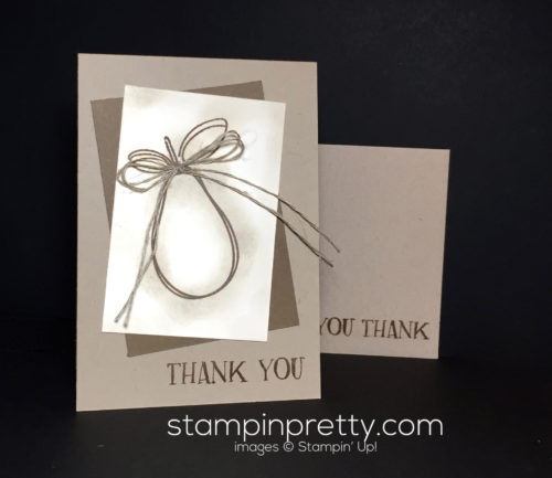 Stampin Up Fresh Fruit Thank You Card Ideas - Mary Fish Stampinup
