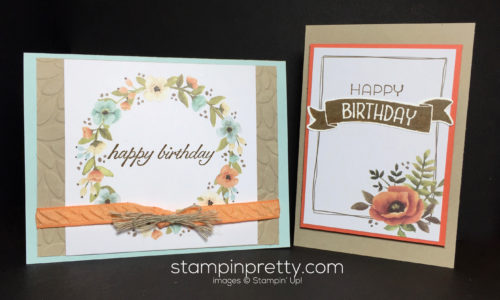Stampin Up Hello Lovely Project Life Cards Birthday Card Ideas - Mary Fish Stampinup