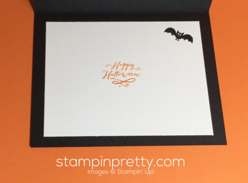 Stampin Up Jar of Haunts Fall card idea - Mary Fish Stampinup