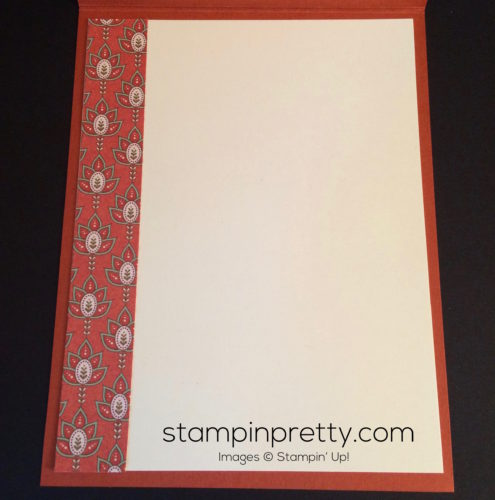 Stampin Up Petals and Paisleys Thank you cards ideas - Mary Fish stampinup