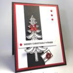 Sneak Peek Christmas Card of Santa's Sleigh