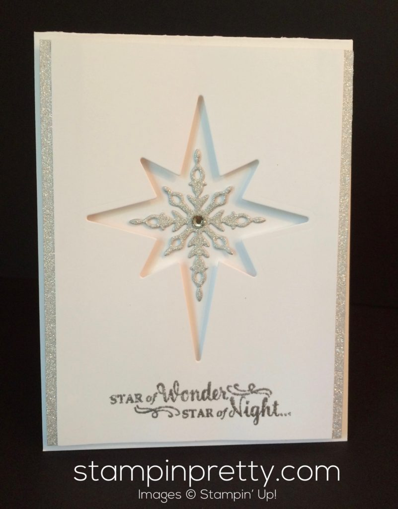 Sneak Peek: Star of Light Christmas Card | Stampin\' Pretty
