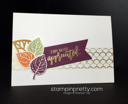 Stampin Up, Thoughtful Branches, Friendship card idea - Mary Fish, stampinup