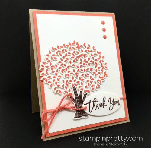 Stampin Up Thoughtful Branches Bundle Thank You