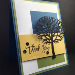 Tree Silhouette Thank You Card