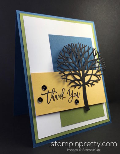 Stampin Up Thoughtful Branches Thank You Cards - Mary Fish StampinUp copy