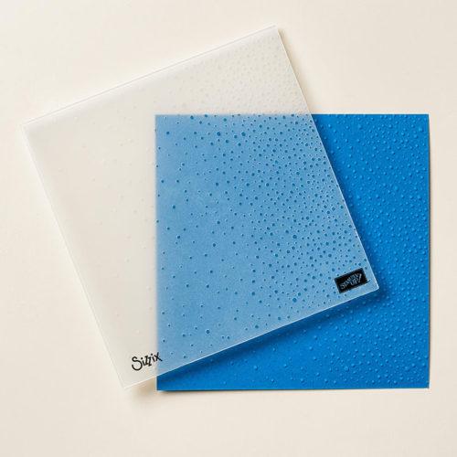 Softly Falling Snow Embossing Folder