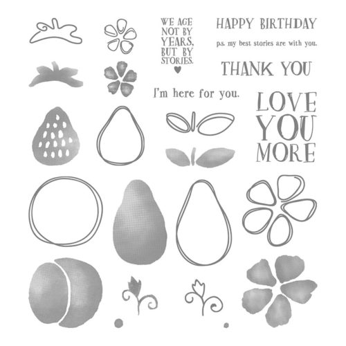 Fresh Fruit Photopolymer Stamp Set - Images © Stampin' Up!