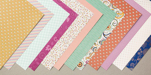 Petals & Paisleys Designer Series Specialty Paper