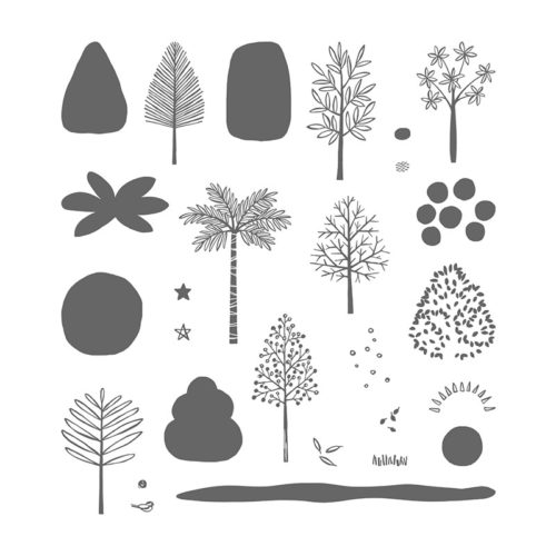 Stampin Up Totally Trees