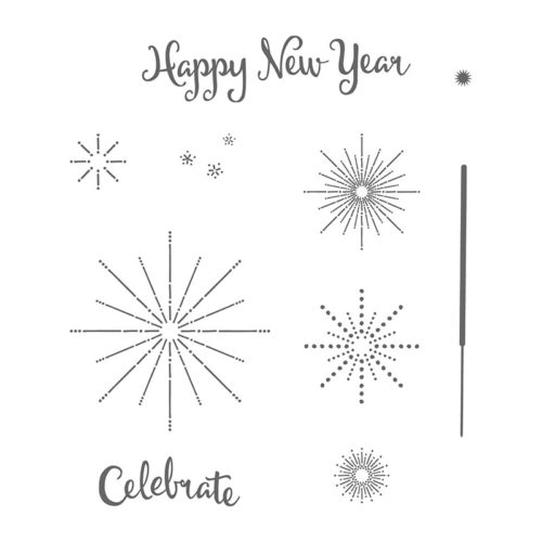 Its a Celebration Stampin Up New Years Card