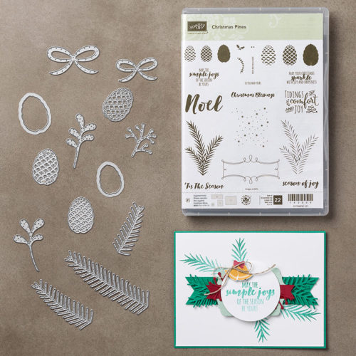 Christmas Pines Bundle images©Stampin' Up!