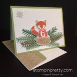 Sweet & Serene Fox Builder Punch Card