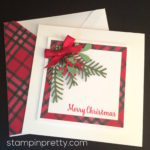 Simple & Pretty Pines Holiday Card Idea