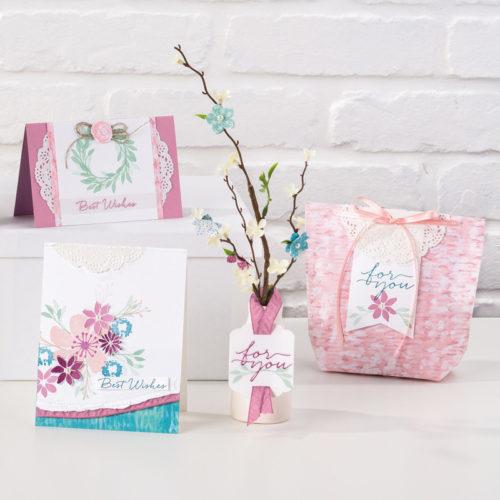 Blooms & Bliss Designer Series Paper Stampin Up