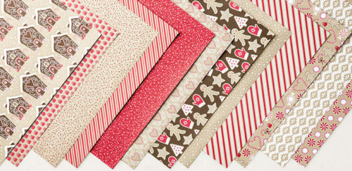 Candy Cane Lane DSP - Images © Stampin' Up!