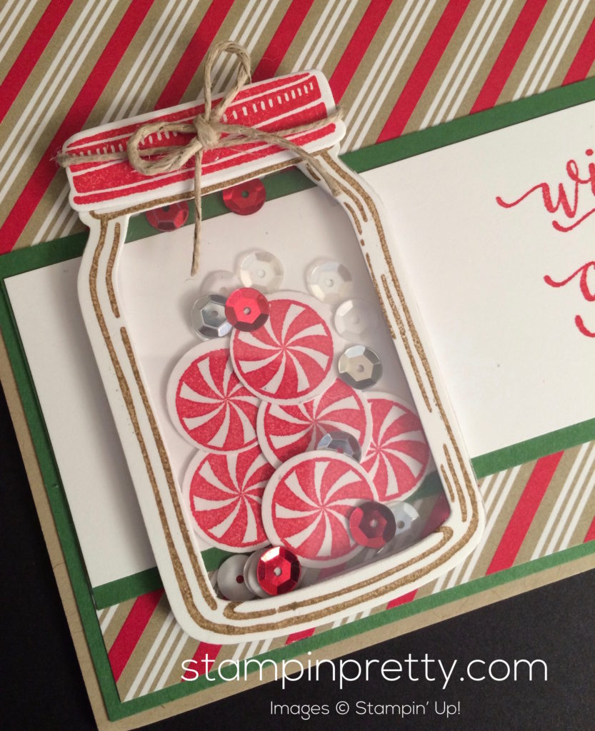 Wishing You a Candy Cane Christmas! | Stampin\' Pretty